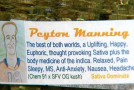 """Peyton Manning Strain"" Named In Colorado Dispensary"