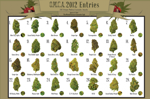 Oregon Medical Marijuana Cannabis Awards December 7th