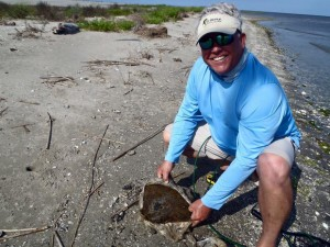 Fishermen Finds 20 Pound Brick of Weed on Beach